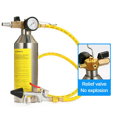 Vehicle Air Conditioning Pipe Cleaning Bottle Flush Canister Maintenance K2U9