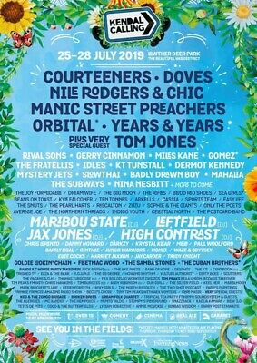 Kendal Calling 2019 Child Under 5 VIP Camping Great Plains Ticket