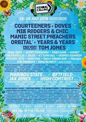 Kendal Calling 2019 Child Under 5 Thursday Entry Ticket