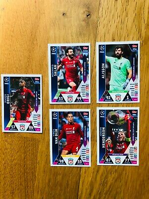 Topps Match Attax Champions League 2018 2019 On Demand Cards RARE NEW