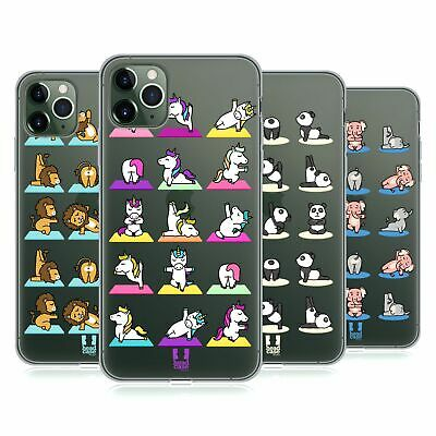 HEAD CASE DESIGNS YOGA ANIMALS 2 GEL CASE FOR APPLE iPHONE PHONES