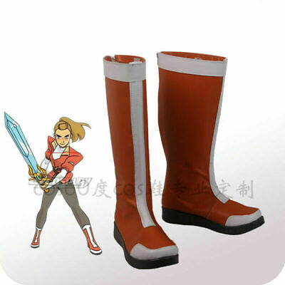 She-Ra and the Princesses of Power Soldier Adora Anime Cosplay Shoes Boots