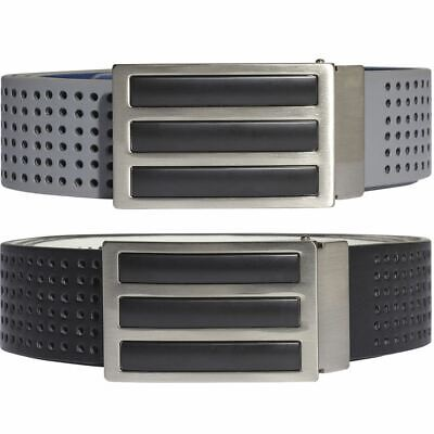adidas Golf 2019 Mens 3 Stripes Perforated Reversible Golf Belt