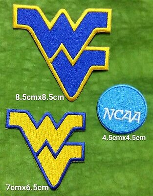West Virginia Mountaineers NCAA Logo Sport Embroidery iron,sew,Patch,decorate on