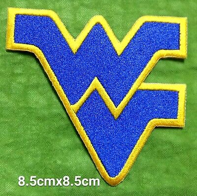 West Virginia Mountaineers Logo Sport Embroidery iron,sew,Patch,decorate on