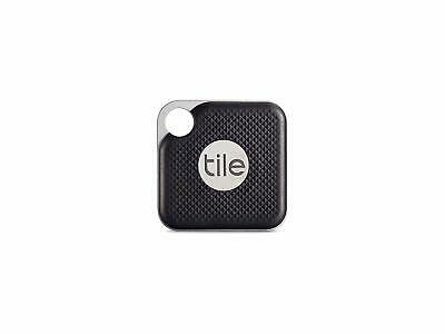 TILE Pro Key Finder Black with Replaceable Battery 300ft Bluetooth/Alexa search