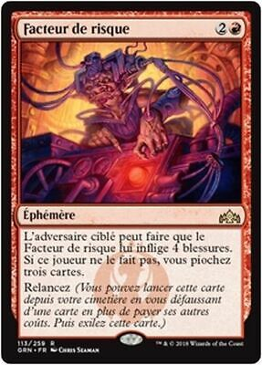 The Gathering Magic the Gathering Guilds Of Ravnica Experimental Frenzy X4 M//near Comme neuf Magic