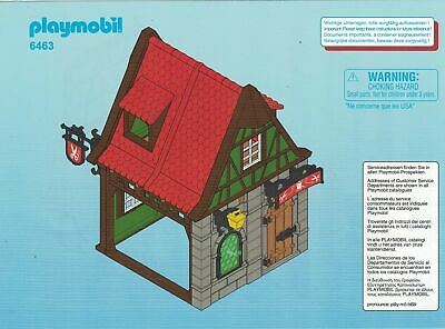 Tailors House Green Window Add-On BRAND NEW 6463 Playmobil Tailor´s Shop