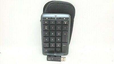 83342729258 LOGITECH WIRELESS NUMBER Pad N305 Numeric Keypad + Unifying receiver ...