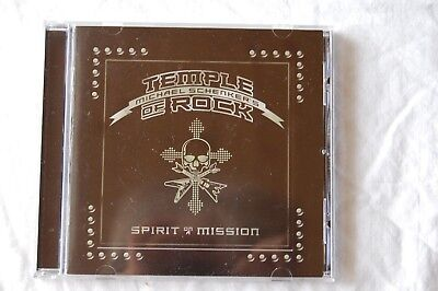 Michael Schenker´s Temple Of Rock: Spirit On A Mission (2015, Scorpions) CD, top