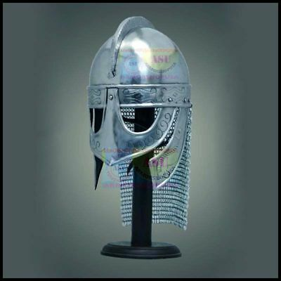 Medieval Valsgrade Helmet Viking Helmet Gjermundbu Helmet With Display Stand
