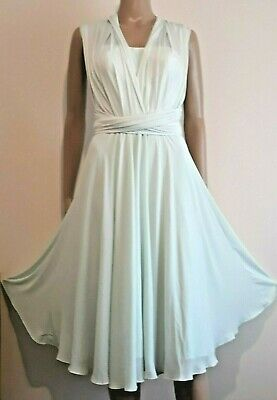 Ted Baker Elira Mint Green 3 Way Wrap Occasion Dress Uk 6 Ted 0 Usa 2 Bnwt £179