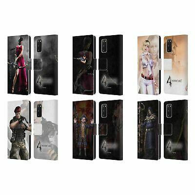 Resident Evil Game 4 Characters Leather Book Wallet Case For Samsung Phones 1