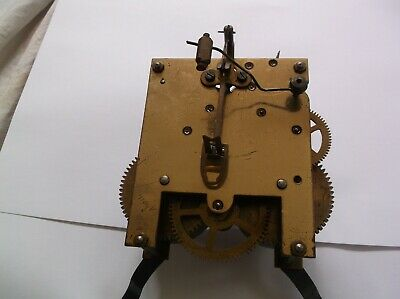 MECHANISM  FROM AN OLD   MANTLE CLOCK working order ref CR 98