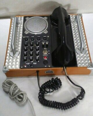 Spirit of St Louis Vintage Aviation Field Telephone Mark 1 -Wall/Desk 70's