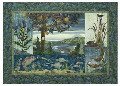 Lake Forest Nature 5 Quilt Pattern Set McKenna Ryan Pine Needles