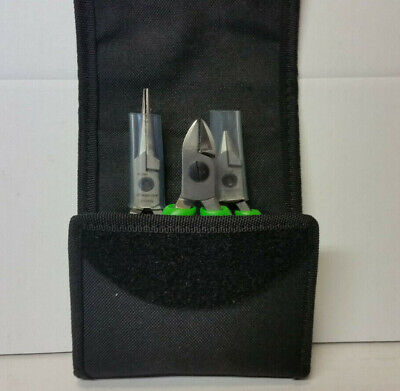 SNAP ON PRECISION PLIERS/CUTTER SET.PLP300.green.NEW.