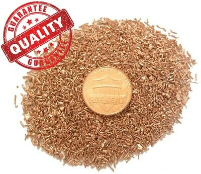 5 LB - Orgone Supplies - .999 Fine Copper Shavings - Metal Art Turnings