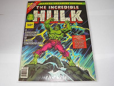 Marvel Treasury Edition 17 Incredible Hulk  NEAR MINT HIGH GRADE UK Price