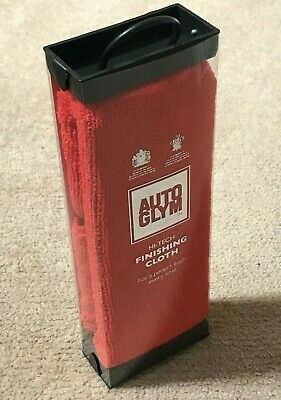 Autoglym Hi-Tech Finishing Cloth - Red