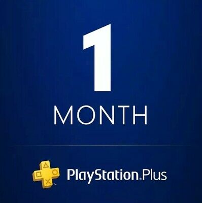 1 mes Psn Playstation Ps Plus PS4-PS3 - Vita (sin código)