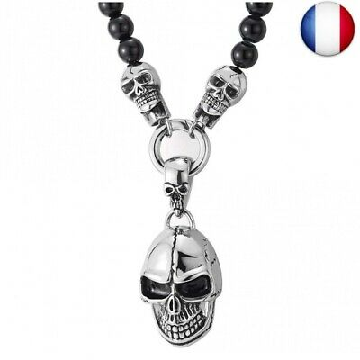 collier homme diable