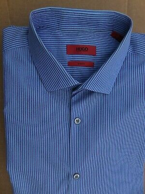 Hugo Boss Cotton shirt, slim fit, in size 16.5x32/33.