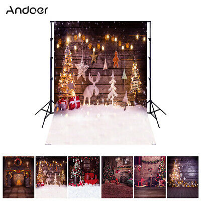 Andoer 1.5*2 meters / 5*7 feet Christmas Holiday Theme Background Photo G2K3