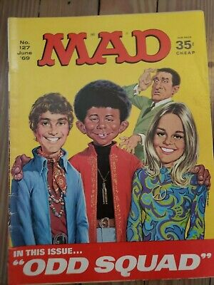 MAD MAGAZINE No. 127, June '69  --  MAD is leaving news stands
