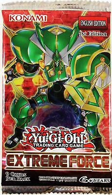 Konami YGO Booster Pack Extreme Force Booster Pack MINT