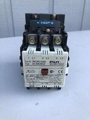 Fuji Electric Magnetic Contactor 2NC2FO/ SC-2SN/SEUD 3PH 600V