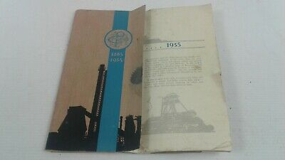 Vintage BHP Mining Co 1885 - 1935 Jubilee Booklet/Brochure/Catalogue