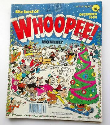 The Best of Whoopee Monthly December 1989 Childrens Kids Humour Humour Comic UK