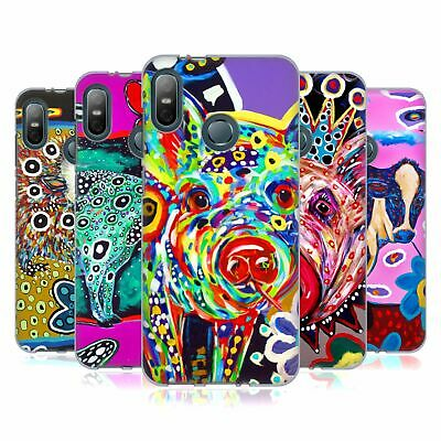 Official Mad Dog Art Gallery Animals Gel Case For Htc Phones 1