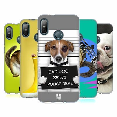 Head Case Designs Funny Animals Gel Case For Htc Phones 1