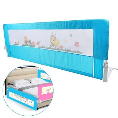 180 CM Summer Infant Single Bed Rail Toddler Guard Cote Single Child Safety Blue