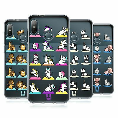 Head Case Designs Yoga Animals 2 Gel Case For Htc Phones 1