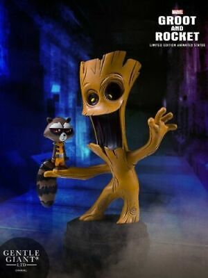 Gentle Giant Marvel Guardians of the Galaxy Marvel Animated Style Groot & Rocket