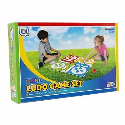 Draughts Giant Garden Family Game Games Hub