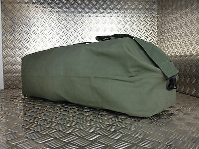 British Army Style Kitbag / Duffle / Shoulder Bag - Green / OD - NEW Faulty KB5B