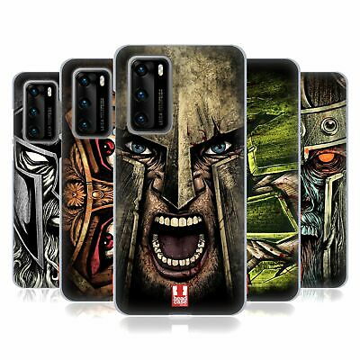Head Case Designs Medieval Helmets Gel Case For Huawei Phones