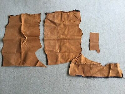 NEW Tan Leather Off Cuts
