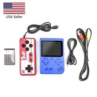 Handheld 400 Classic Games Video Game TV Console Advance Gameboy for Double Kids