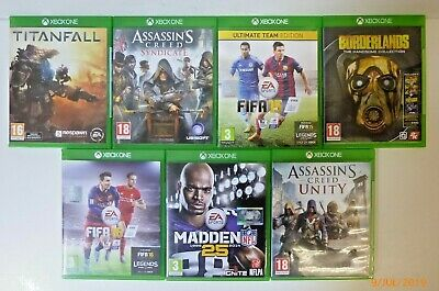 Seven Xbox One Games Including Borderlands, FIFA , Assassin's Creed And More!