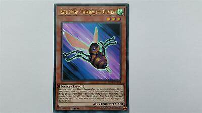 "YUGIOH!! ""Battlewasp - Twinbow the Attacker"" BLHR-EN034! Ultra Rare! NM! 1. Ed!"