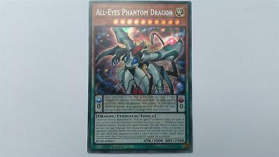 "YUGIOH!! ""All-Eyes Phantom Dragon"" BLHR-EN043! Secret Rare! NM! 1. Edition!"