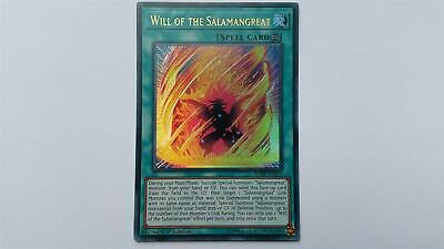 """YUGIOH!! """"Will of the Salamangreat"""" BLHR-EN073! Ultra Rare! NM! 1. Edition!"""