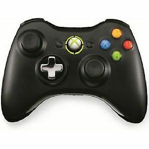 Official Microsoft Xbox 360 Wireless Controller with Transforming D-Pad - Black