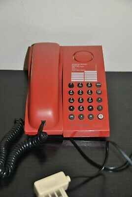 Telephone Rouge Amarys 100 Touche France Telecom Vintage  1995