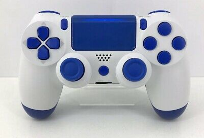 Playstation 4 - PS4 - DualShock 4 Wireless - Controller - Gamepad - Blau Weiß